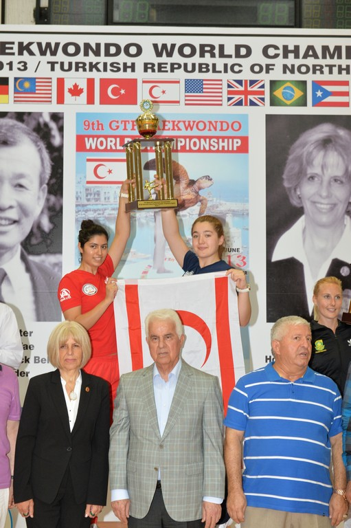 Official results of the 9.GTF World Taekwondo Championships in TRNC
